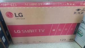 Tv Lg de 49 Encajado Smart Tv con Tdt