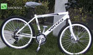 Bicicleta nueva todo terreno rin26 freno de disco trasero y