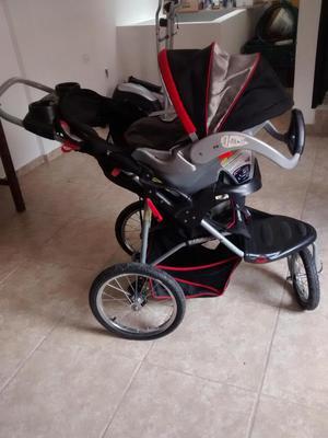 Coche baby trend Expedition con porta bebe