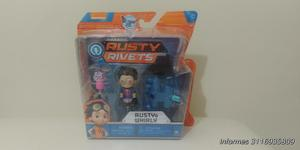 Juguete Rusty Rivets Rusty y Whirly Pack