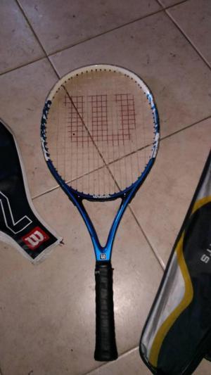 Vendo raquetas wilson y head para niños