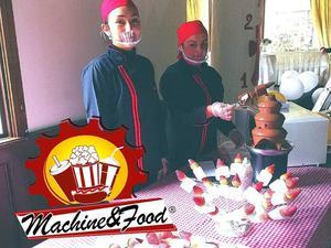 BROCHETAS DE CHOCOLATE VENTA Y SERVICIO DE MAQUINAS.