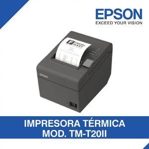 IMPRESORA EPSON TMT20II PARA RECIBOS DE PUNTOS DE VENTA