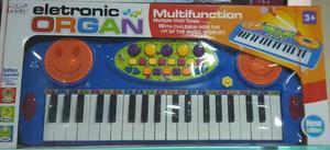 Organeta Electric Organ Juguete Con Sonidos De Guia Niño