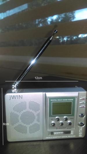 Radio de onda corta AM/FM HI Sensitivity digital receiver