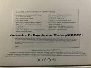 Apple MacBook Pro 13 Retina2.6GHz Core i5 8GB Ram 256GB SSD
