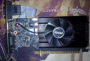 Nvidia GT gb Msi Nueva