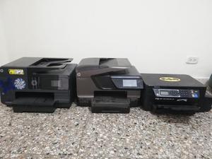 Vendo 3 Impresoras Cabezal Dañado