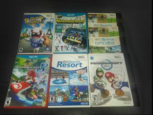 Juegos para Wii O Wii U desde 20 Mil