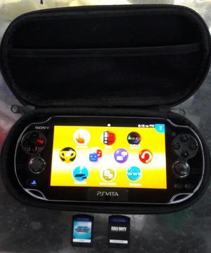 Play Station Vita Programada 2 Juegos Memoria 8 Gigas