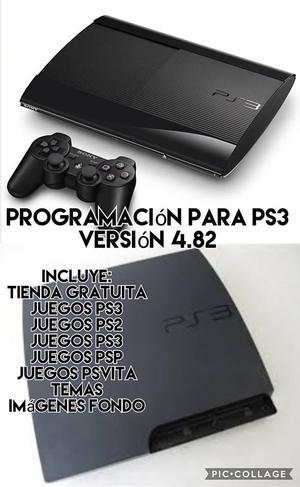 SE PROGRAMAN PS3 Y SE REGALA TIENDA GRATUITA DE JUEGOS