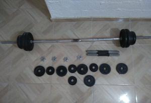 Kit de Pesas 50 Kilos