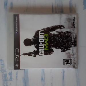 CALL OF DUTY MODERN WARFARE 3 PS3 ORIGINAL