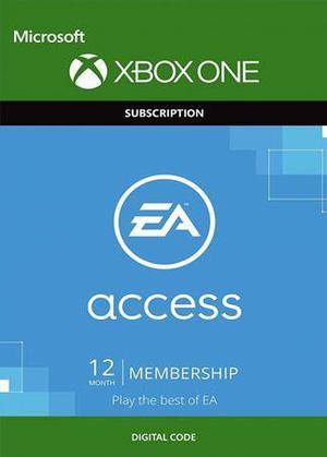 Ea Access Xbox 12 Meses Código Global Xbox ONE