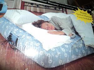 cama infla ble nueva en su caja 1:20 metro ancho y un metro