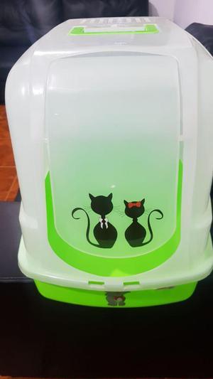 Arenera para Gato Cubierta