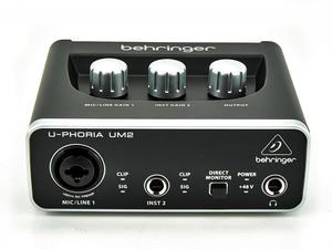 Behringer Uphoria Um2 Preamplificador Xenyx