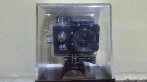 Camara Tipo Go Pro 4k sin Uso Sumergible
