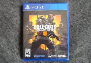 Call of Duty Black Ops 4. Playstation 4. NUEVO Sellado.