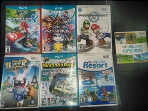 Juegos Nintendo Wii Wiiu desde 20 Mil