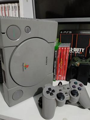 Playstation 1 Fat Mas 10 Juegos 1 Contro