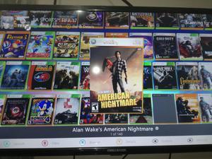 Vendo Xbox 360 Slim E 5.0 Dd 750 Gb