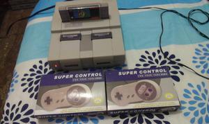 super Nintendo y super Mario world