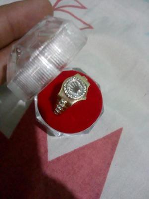Anillo Rolex en Oro de 18k