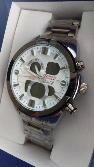 Reloj Hombre Casio Edifice Ef531 Nuevo