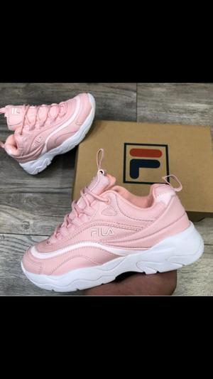 Zapatillas Fila para mujer color rosa talla 35