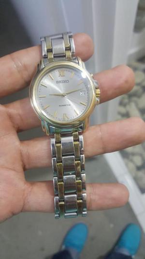 vencambio reloj seiko kinetic original vintage como nuevo