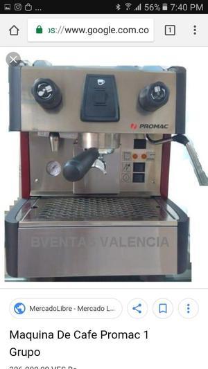 Mquina de caf de un grupo macap