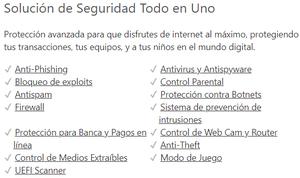 Solución de Seguridad Todo en Uno para Internet