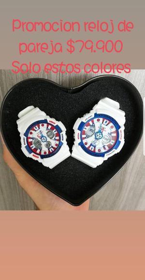 Promocion Relojes de Pareja
