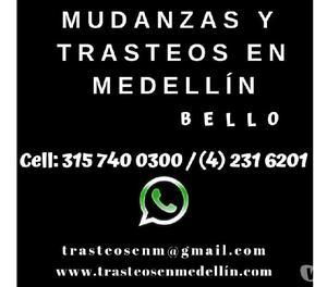 MUDANZAS Y TRASTEOS EN MEDELLIN EN BELLO