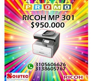 VENTA DE FOTOCOPIADORA RICOH MP 301