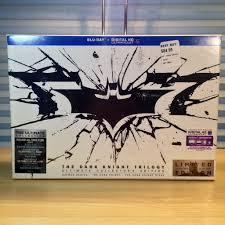 The Dark Knight Trilogy Bluray / Ultimate Collector's