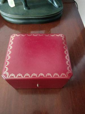 Caja Reloj Cartier Original