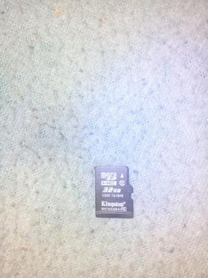 Vendo Memoria de 32 Gb Como Nueva