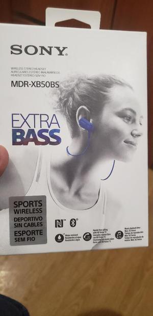Audifonos Bluetooth Sony Sports