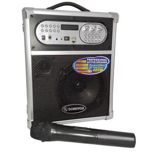 Parlante karaoke Sonivox  De 400w