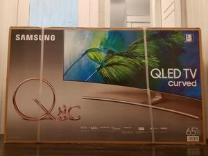 Samsung 65 pulgadas 4k Ultra HD Smart Qled TV curvada