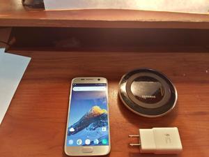 Samsung S7 con Cargador Inalámbrico