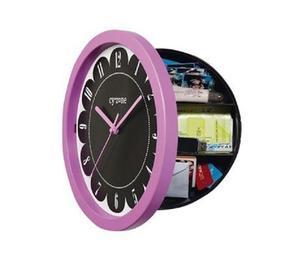 Reloj De Pared Con Caja De Seguridad Cyzone
