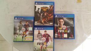 Juegos PS4 como nuevos  c/u