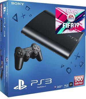 PS3 playstation 3 slim 500 gb 70 juegos opcionales fifa 19