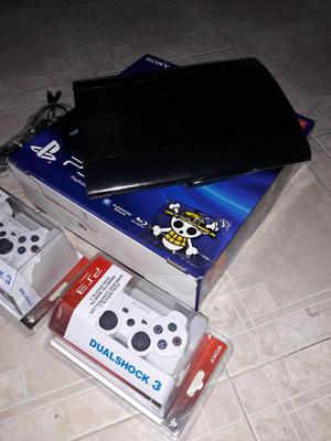 Vendo Ps3 Super Slim de 500 Gigas Comple