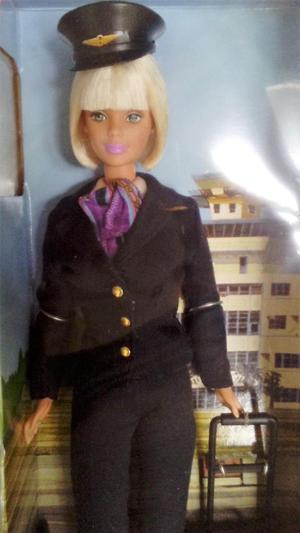 Barbie Piloto de Avión Nueva en Caja Original de Mattel.