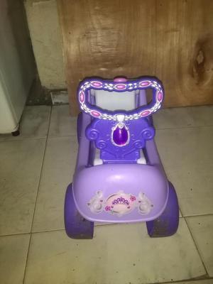 Carrito Princesita Sofía Dos en Uno