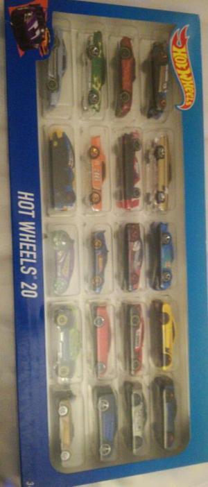 Nuevo Set 20 Carros Hot Wheels